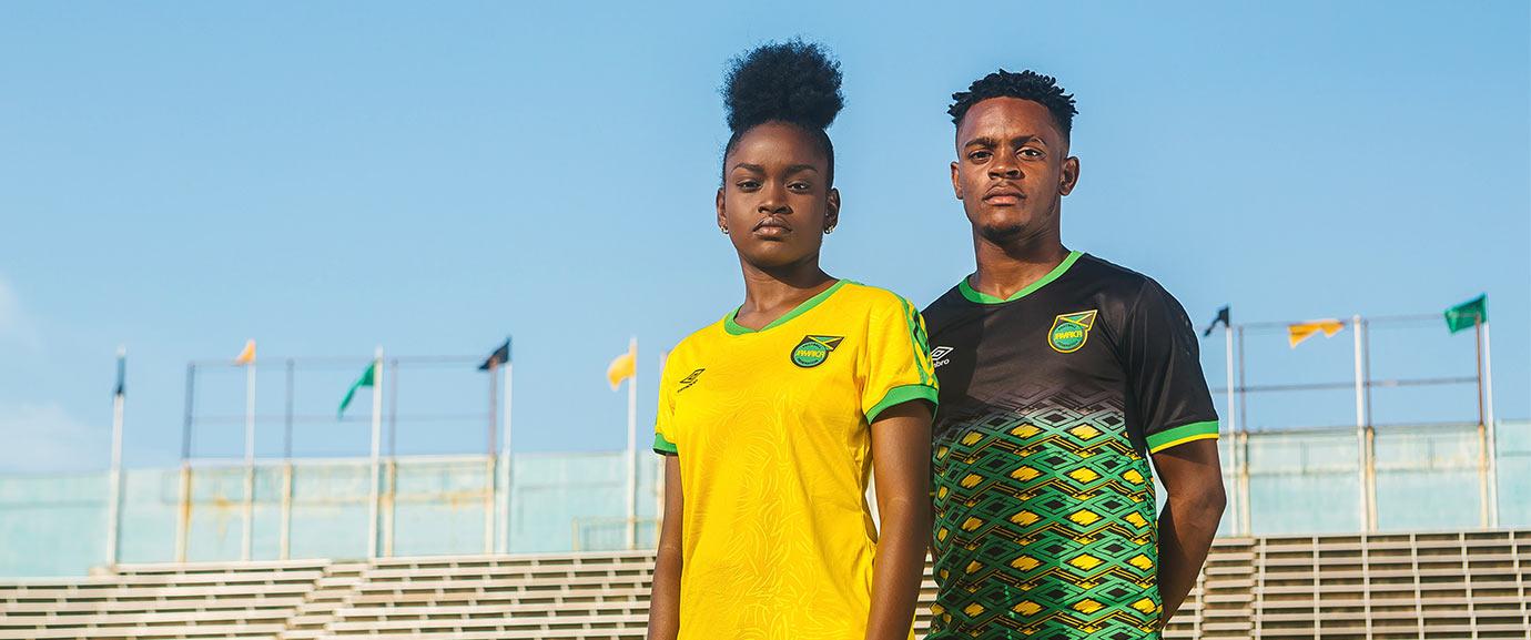 Les nouveaux maillots de la Jamaïque