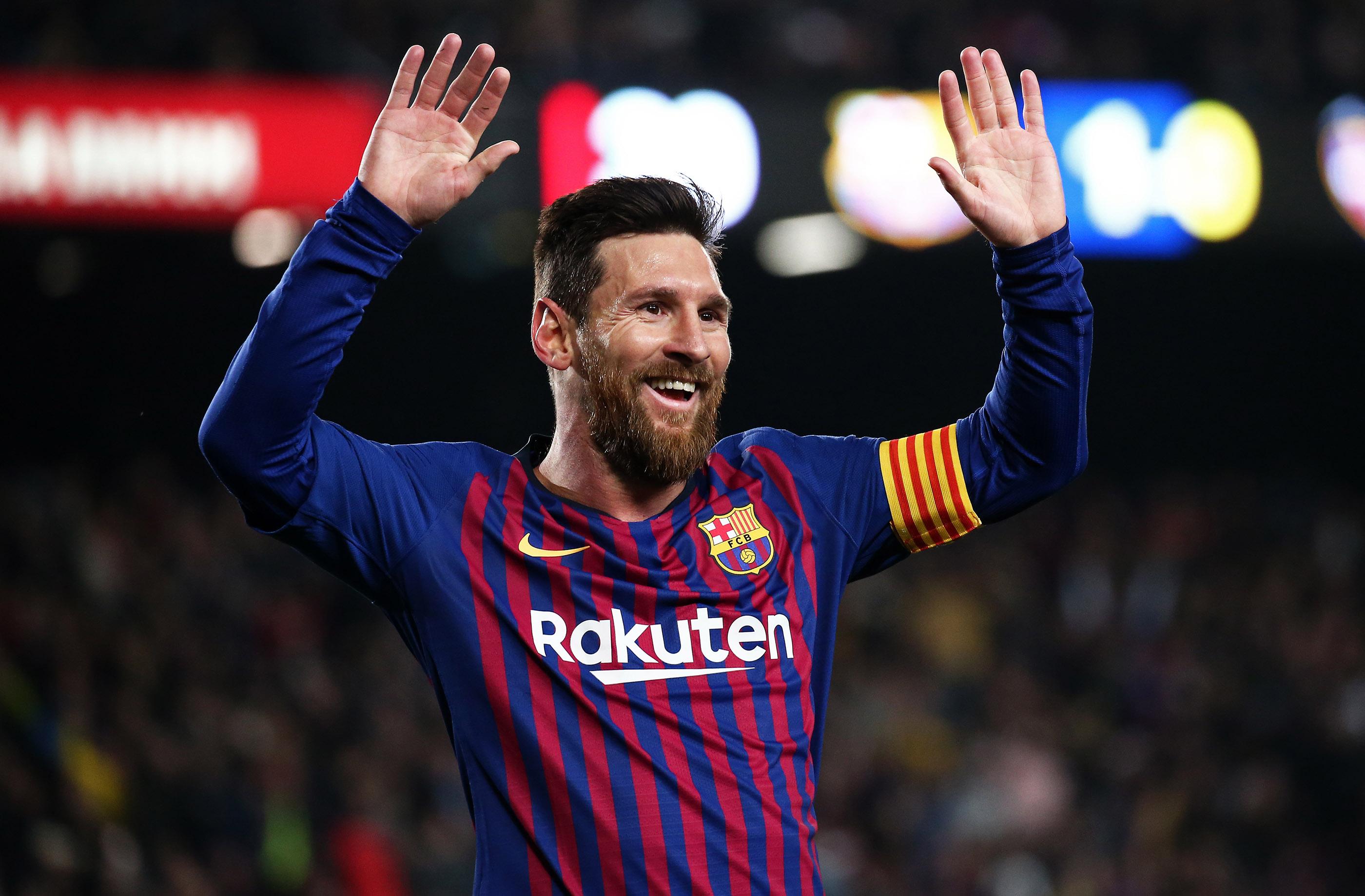 Le beau geste de Lionel Messi