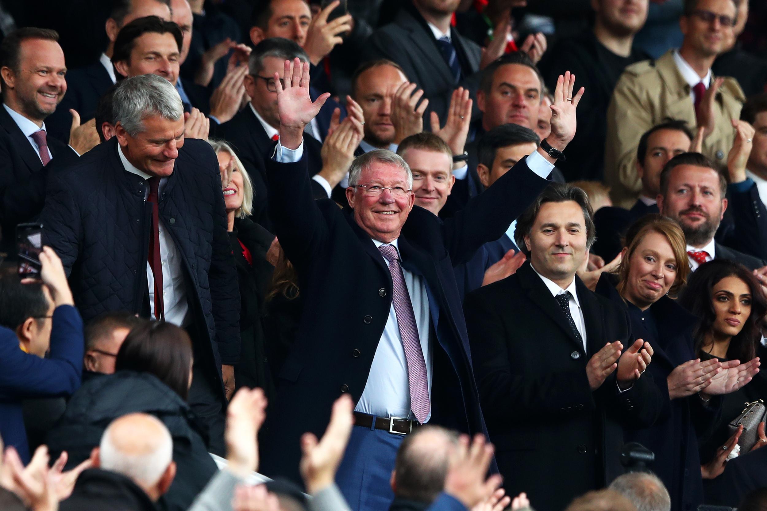 Sir Alex Ferguson va revenir sur le banc de Manchester United