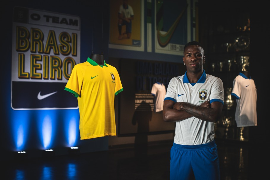 Nike dévoile les maillots du Brésil pour la Copa America 2019