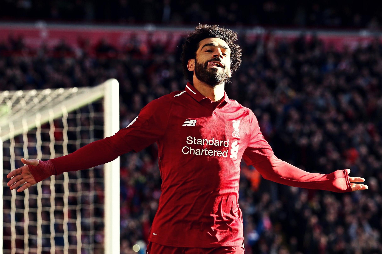 Mohamed Salah en Une du Time