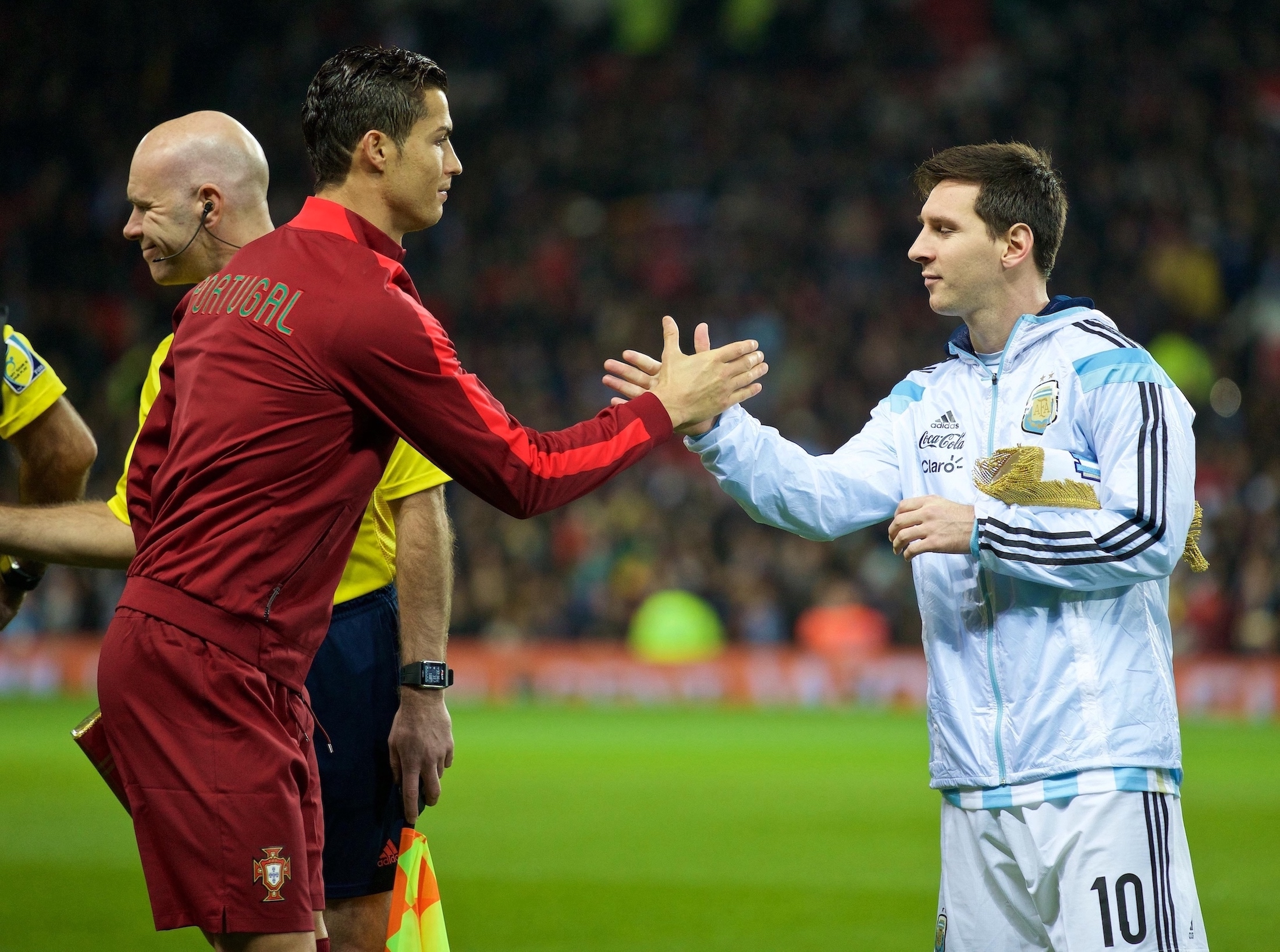 RMC Sport rend hommage à Cristiano Ronaldo et Lionel Messi