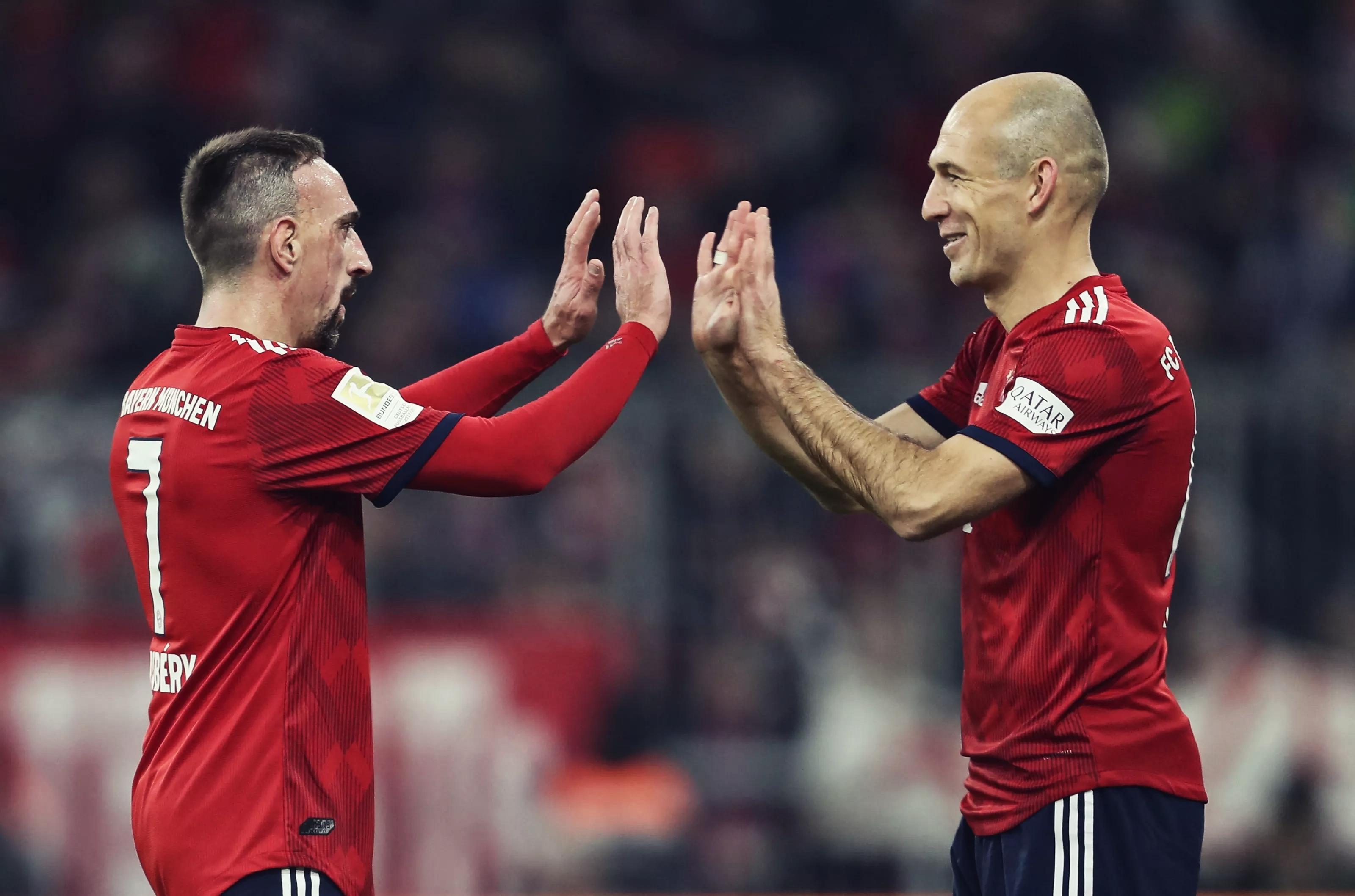 Le Bayern Munich rend hommage à Ribéry, Robben et Rafinha