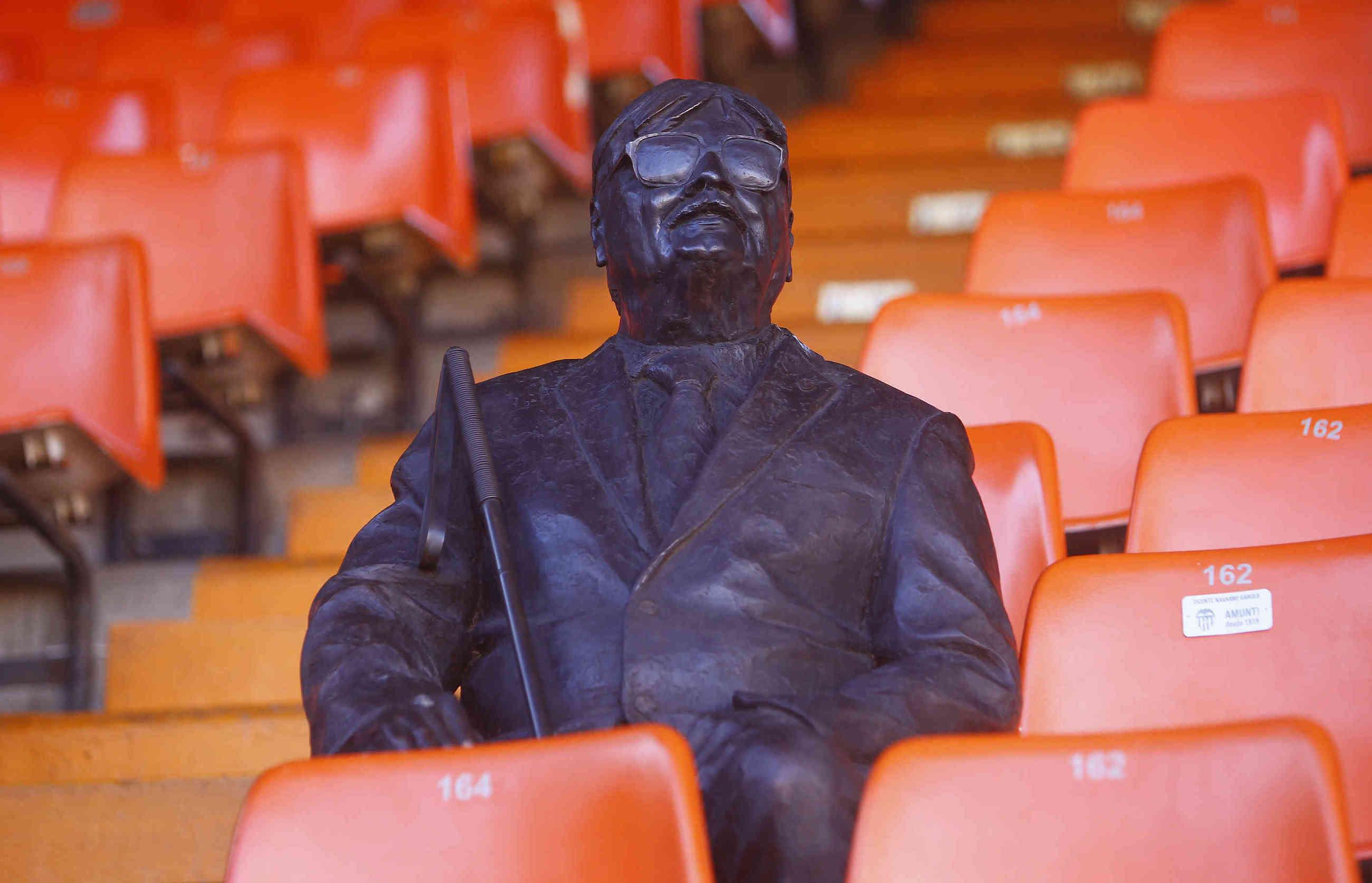 Le FC Valence rend hommage à son plus fidèle supporter