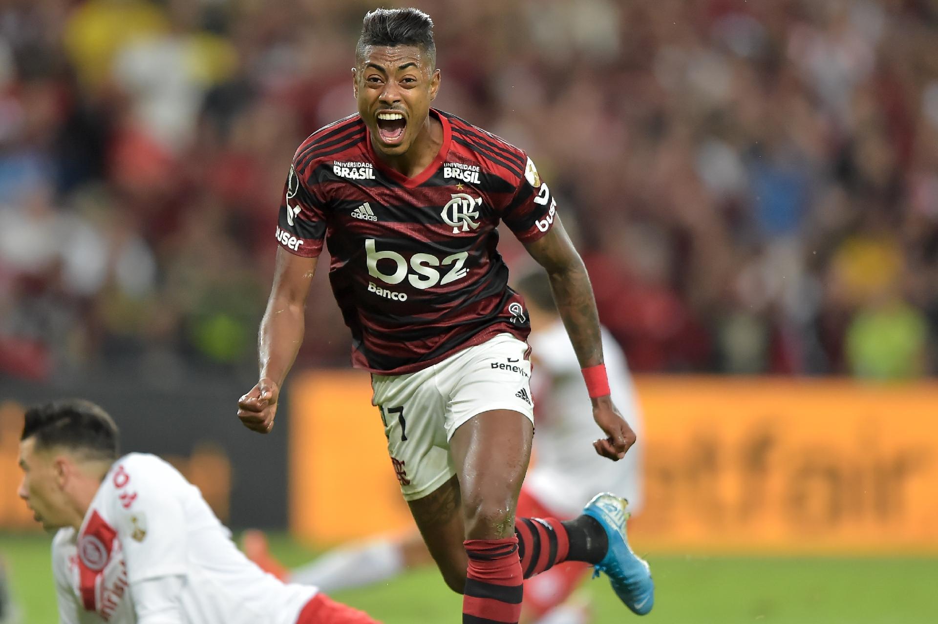 Des distributeurs automatiques de maillots à Flamengo