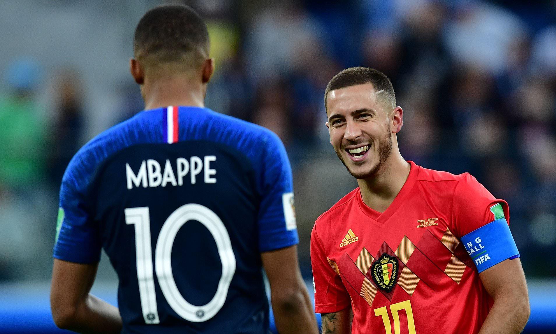 Eden Hazard et l'avenir de Kylian Mbappé