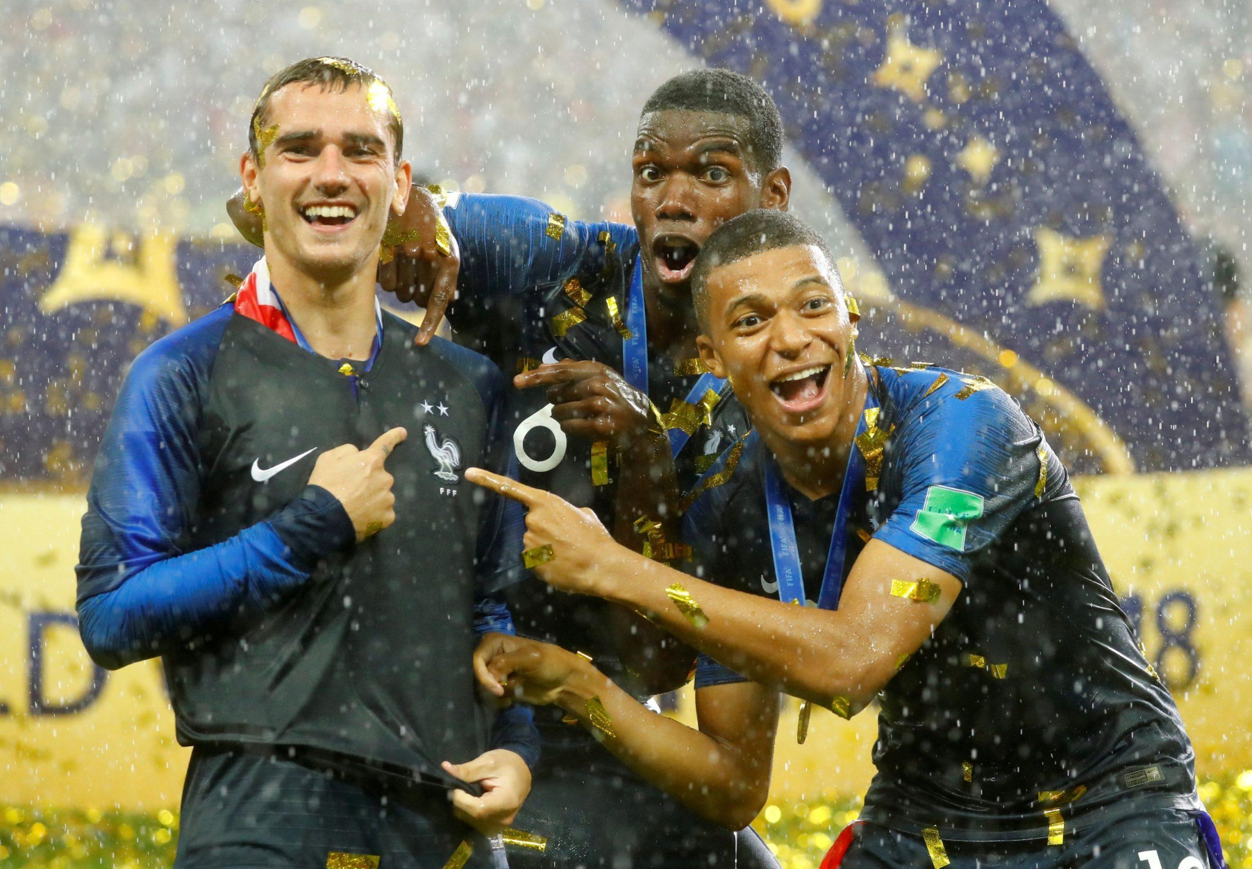 Le nouveau maillot de l'équipe de France dévoilé ?