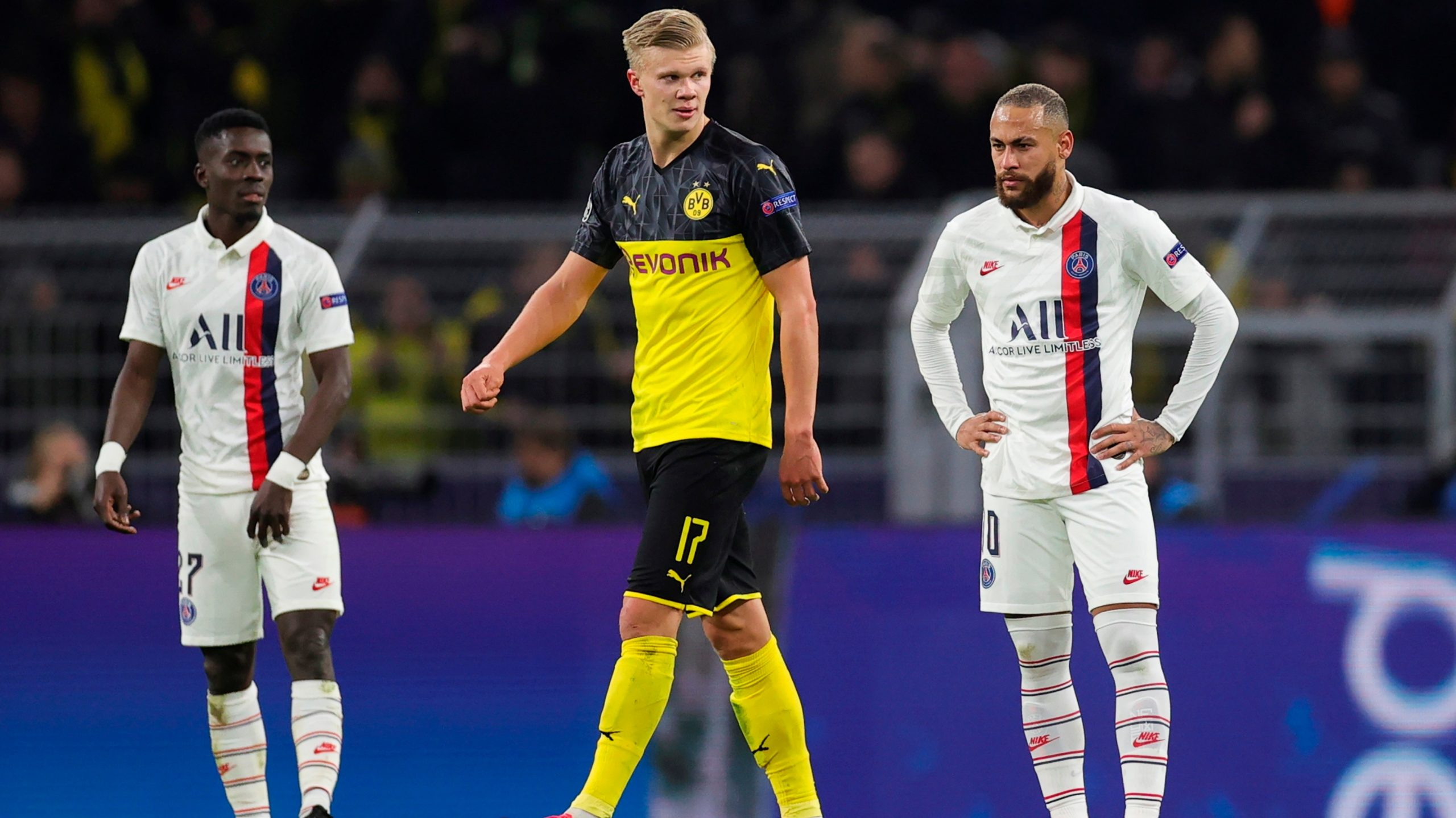 Quand le Borussia Dortmund chambre le PSG