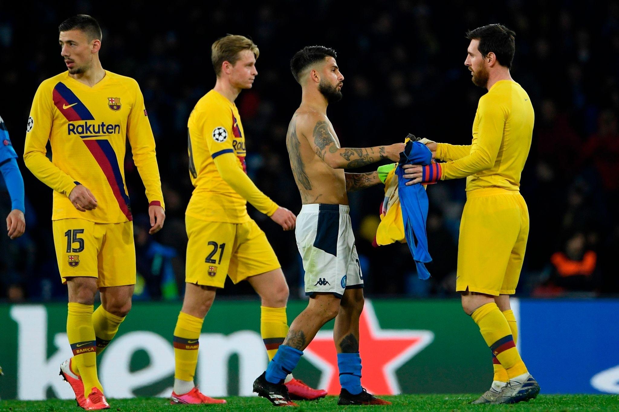 Les cotes de FC Barcelone – Naples