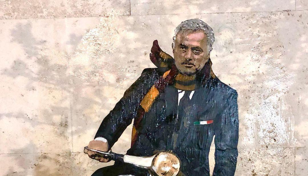 José Mourinho déjà immortalisé à Rome